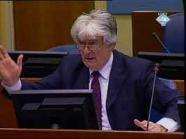 Karadzic: Conflict between Mladic and Indictee