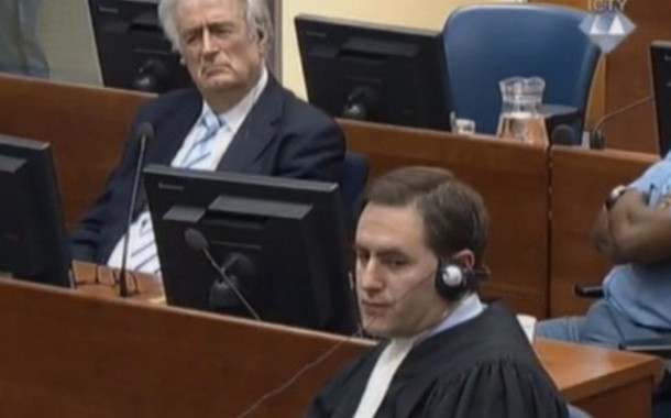 Karadzic Asks for Stay of Proceedings