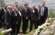 Izetbegovic Paid Respect to People Killed at Kazani