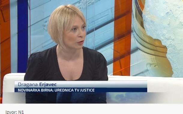 Dragana Erjavec za N1: Ljudi na vlasti ne znaju kako narod živi