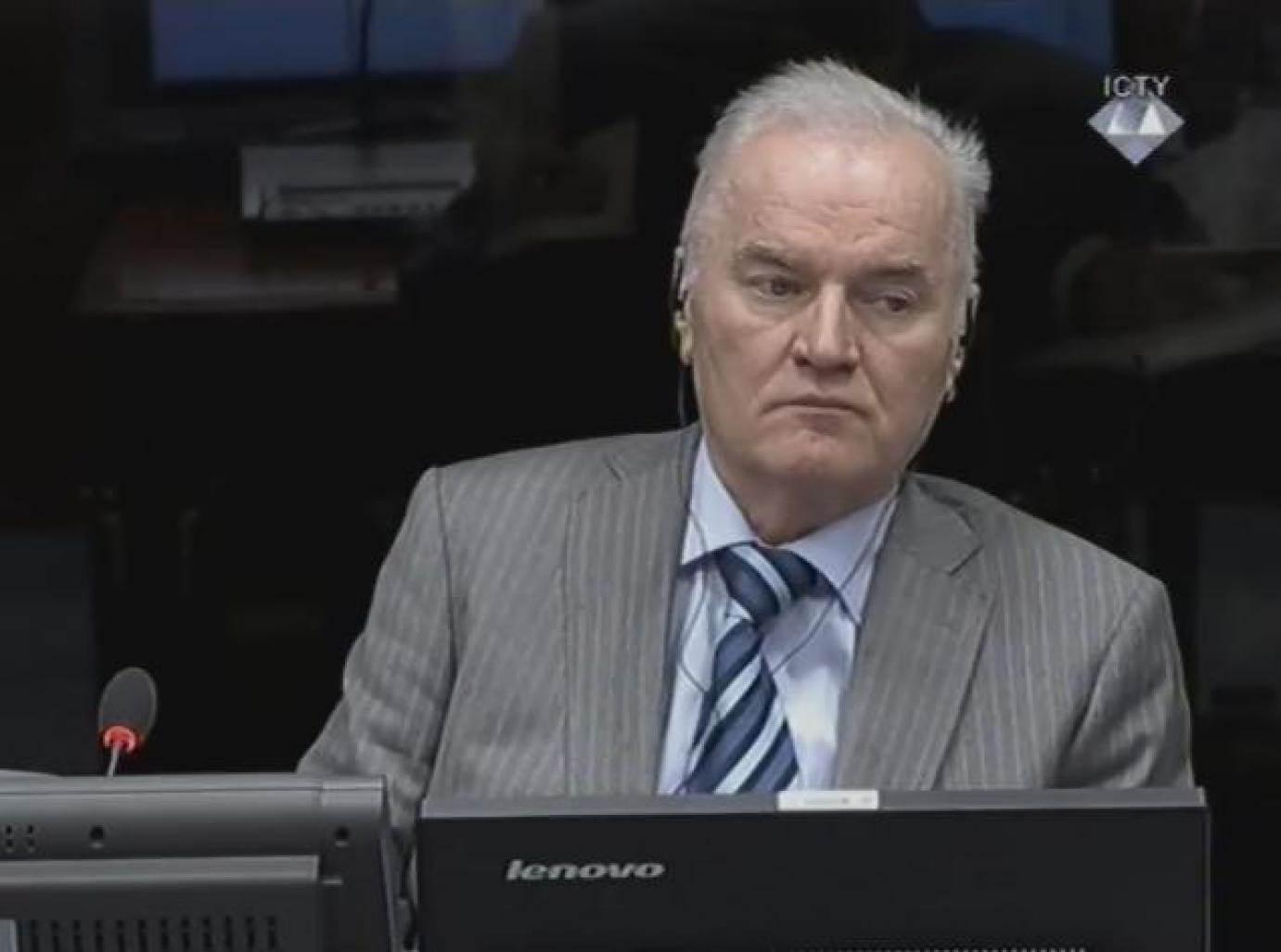 Ratko Mladić Izvor: MKSJ