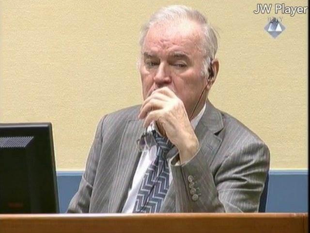 Ratko Mladic. Izvor: MKSJ