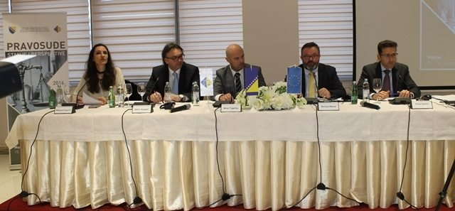 Konferencija u Mostaru Izvor: VSTV BiH