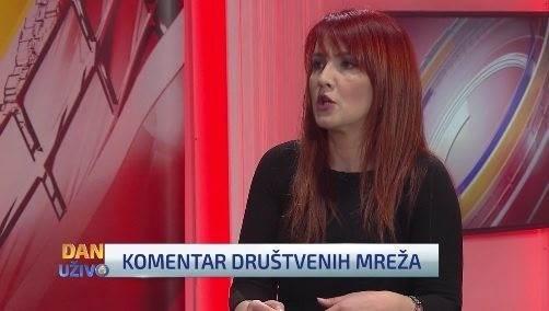 Erna Mačkić u komentaru društvenih mreža