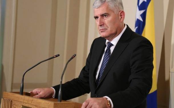 Više od 50.000 maraka za renoviranje Čovićevog kabineta