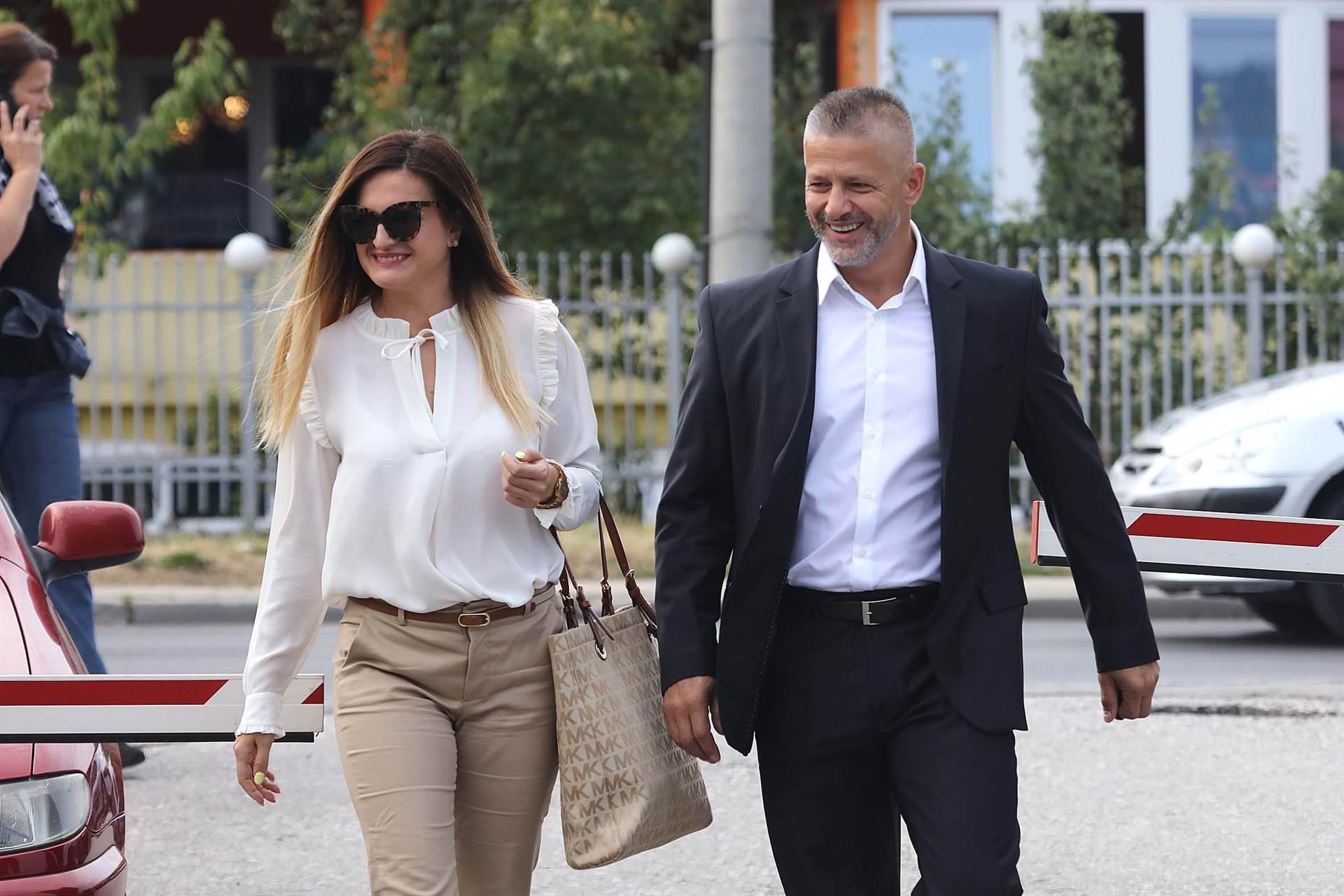 Naser Orić i Sabahudin Muhić u sudnici 8. maja