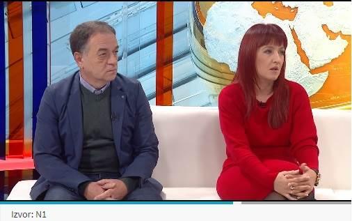 Erna Mačkić i Murat Tahirović za N1