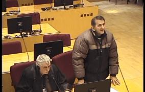 Milovanović: Čuo da su Rešagići spaljeni