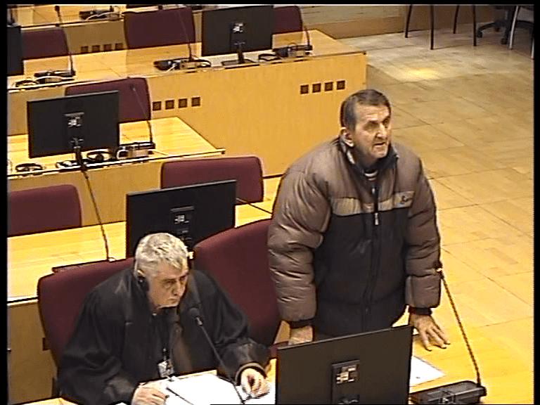 Milovanović: Čuo za učešće optuženog u paljenju kuća