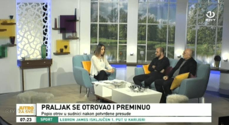 """Denis Džidić u Jutarnjem programu BHT: Presuda """"Prlić i drugi"""""""