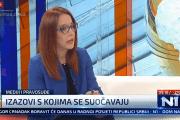 """Mirna Buljugić za N1: Konferencija """"Mediji i vladavina prava"""""""