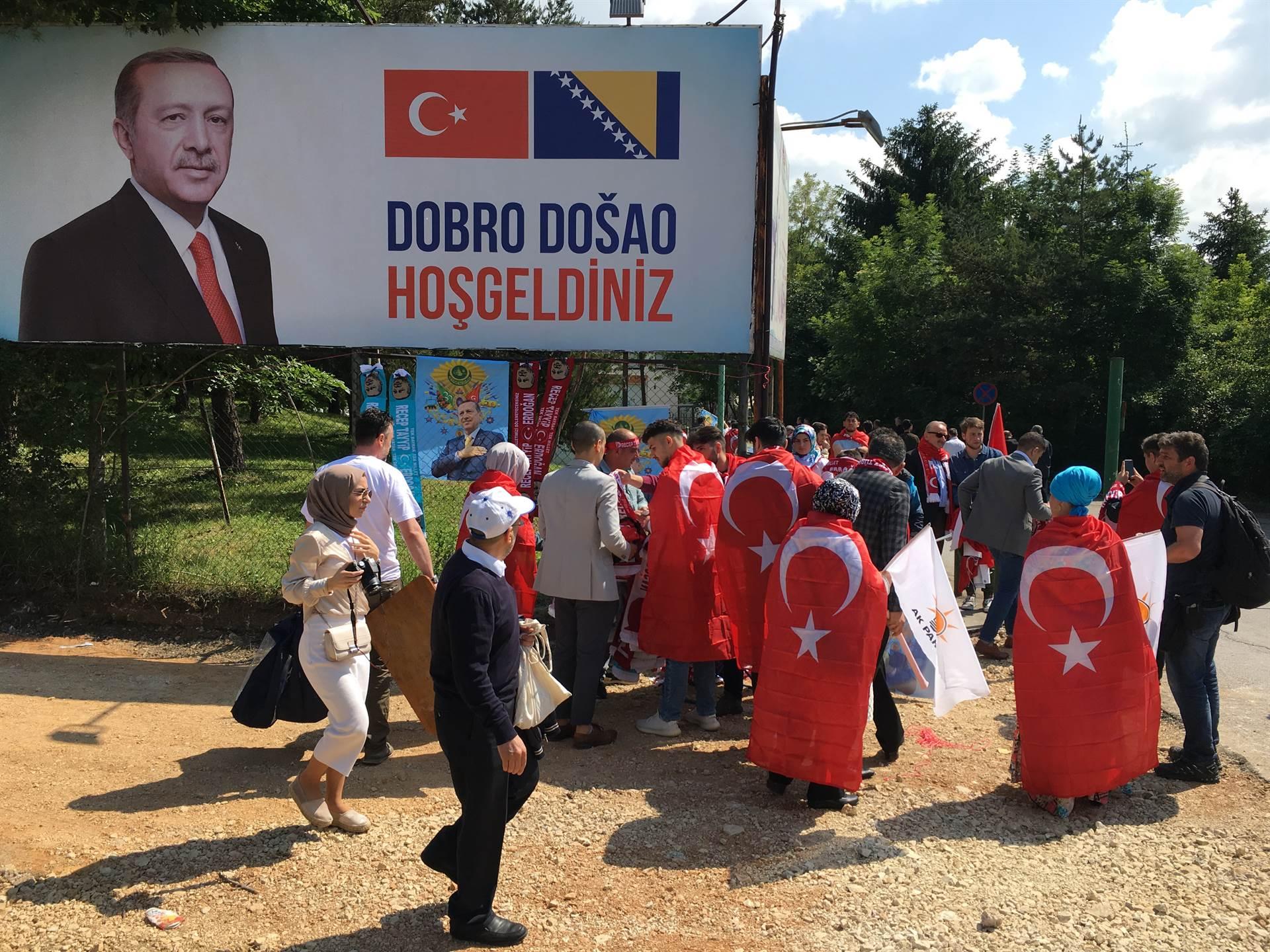 Novinarima BIRN-a onemogućen ulazak na Erdoganov skup