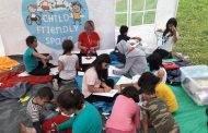 "Djeca migranata u Bihaću u ""Mobilnom sigurnom kutku"""