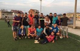 #BosanskaRuta: Zastava BiH na čarapi migranta u prijateljskoj utakmici