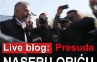 LIVE BLOG: Presuda Naseru Oriću
