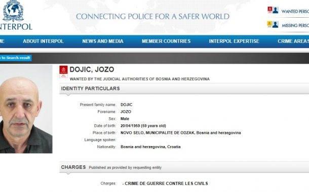 Interpol raspisao potjernicu za Jozom Đojićem