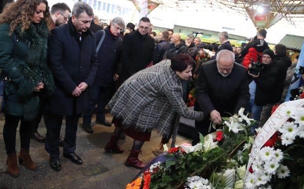 Sarajevo Marks 25th Anniversary of Deadly Market Shelling