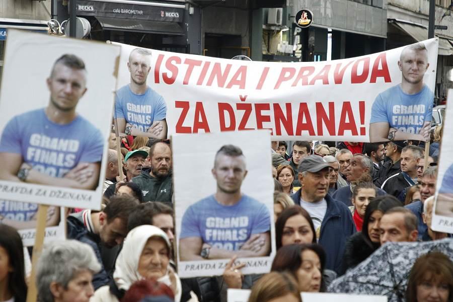Disciplinski postupak protiv Dalide Burzić na treću godišnjicu smrti Dženana Memića