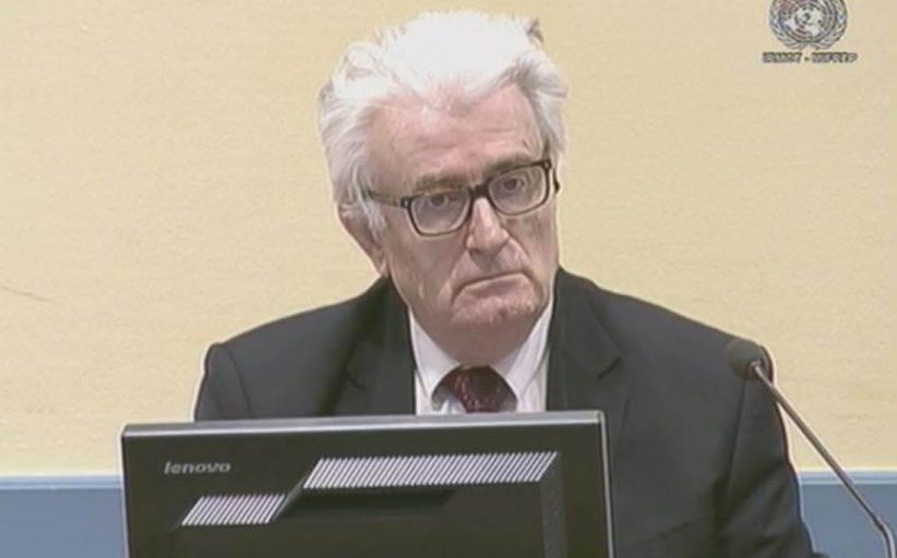 Radovan Karadžić osuđen na doživotnu kaznu zatvora