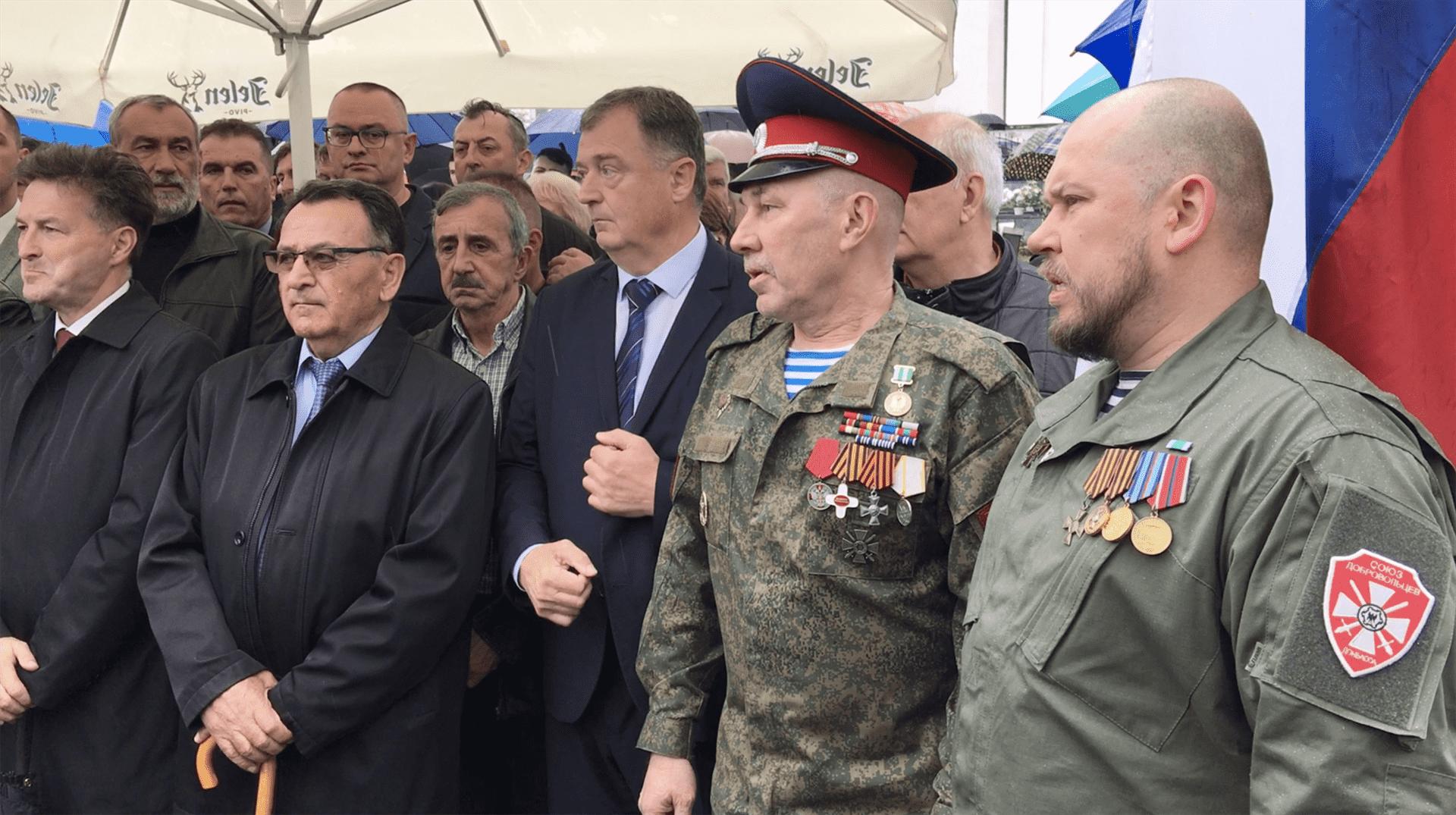 "Srpsko-ruski ""zavet"" dobrovoljaca Višegrada i Donbasa"