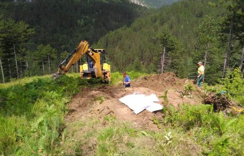 Završena ekshumacija masovne grobnice na lokalitetu Hrtar Grad u Višegradu