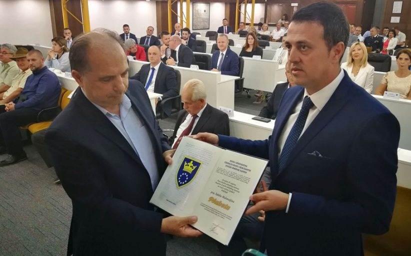 Bosnian Army Commander Honoured Despite War Crimes Charges