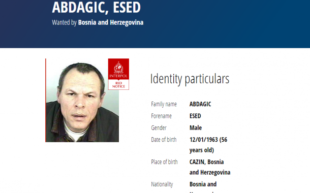 Interpol Issues 'Red Notice' for Bosnian War Suspect