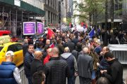 Protesters Rally in New York for Balkan War Rape Victims