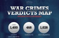 BIRN objavio ažuriranu mapu presuda za ratne zločine