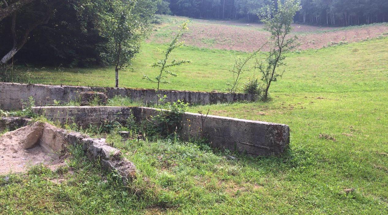 Ostaci porodične kuće porodice Glavočević